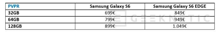 Llegan a España los Samsung Galaxy S6 y Galaxy S6 Edge, Imagen 3