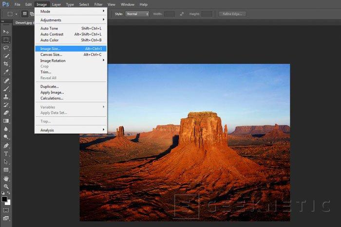 Ampliar una imagen con Photoshop CC con la mínima pérdida de calidad, Imagen 1
