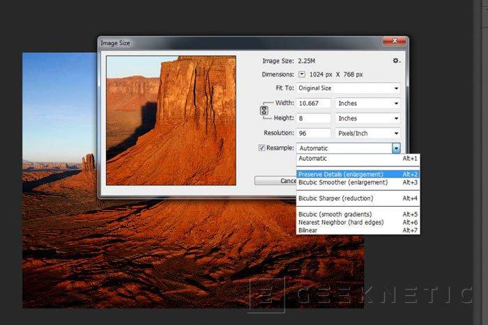 Ampliar una imagen con Photoshop CC con la mínima pérdida de calidad, Imagen 2