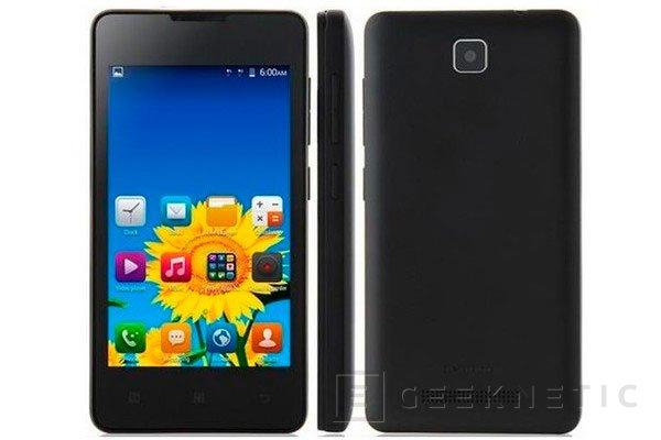 Lenovo A1900, un smartphone de 50 Dólares, Imagen 1