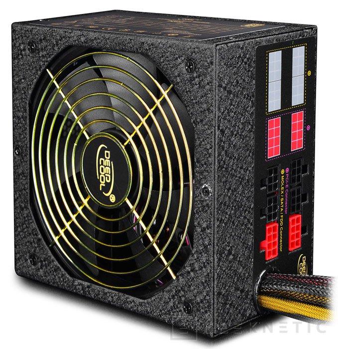 DeepCool Quanta DQ850, fuente de 850W con eficiencia 80 PLUS GOLD, Imagen 1