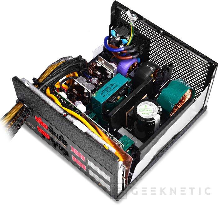 DeepCool Quanta DQ850, fuente de 850W con eficiencia 80 PLUS GOLD, Imagen 2