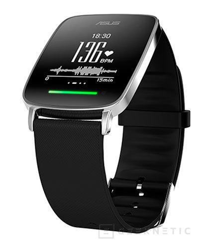 ASUS prescinde de Android Wear para conseguir 10 días de autonomía en su VivoWatch, Imagen 1