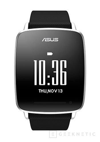 ASUS prescinde de Android Wear para conseguir 10 días de autonomía en su VivoWatch, Imagen 2