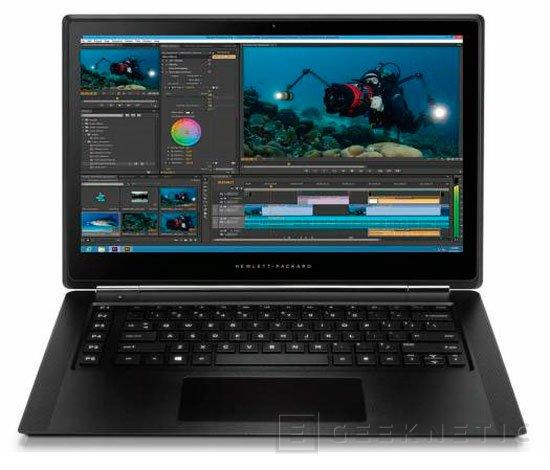 HP OMEN PRO, el ultrabook gaming de HP se pone serio para profesionales, Imagen 1