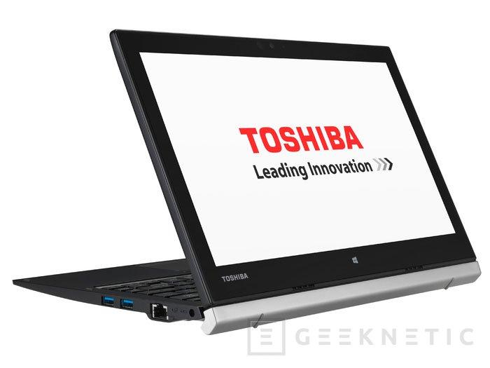 Llega a España el Ultrabook convertible Toshiba Portégé Z20t, Imagen 2
