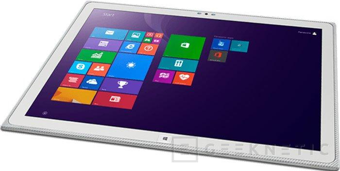 Panasonic actualiza su tablet de 20