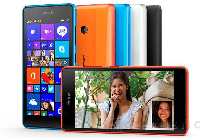Microsoft amplía aún más su gama económica con el Lumia 540 Dual Sim , Imagen 1