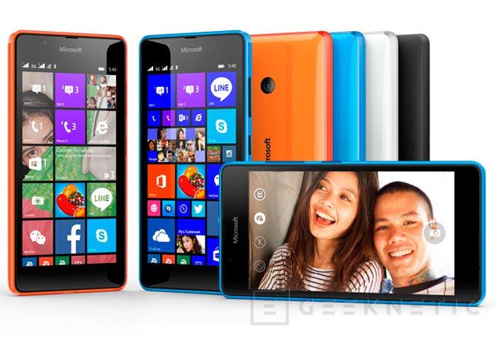 Microsoft amplía aún más su gama económica con el Lumia 540 Dual Sim , Imagen 2