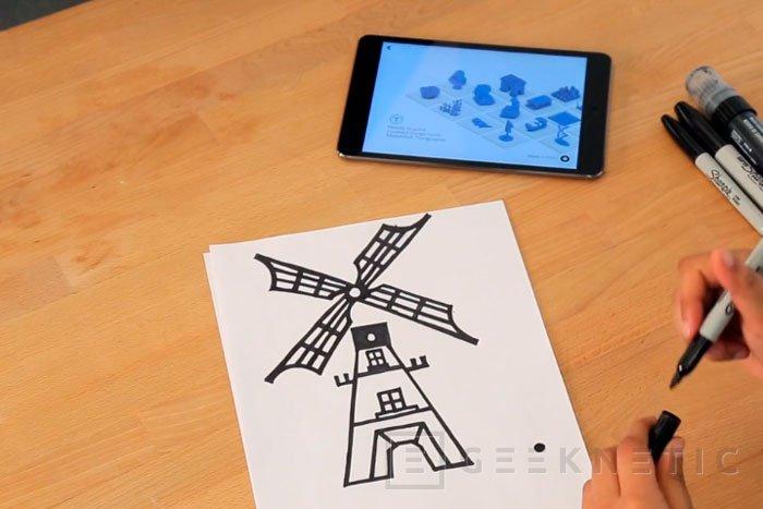 Convierte tus dibujos en realidad con una impresora 3D y la nueva aplicación de MarkerBot , Imagen 1