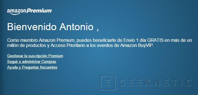 Amazon reduce a un día el tiempo de los envíos gratuitos Premium, Imagen 1