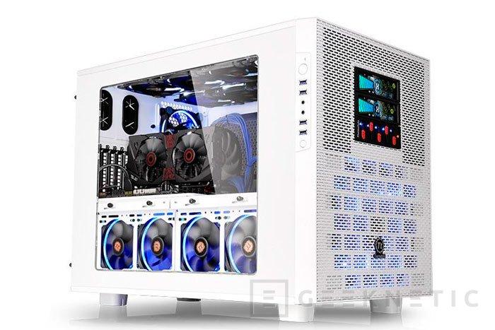 Thermaltake lanza la enorme torre Core X9 Snow Edition, Imagen 1