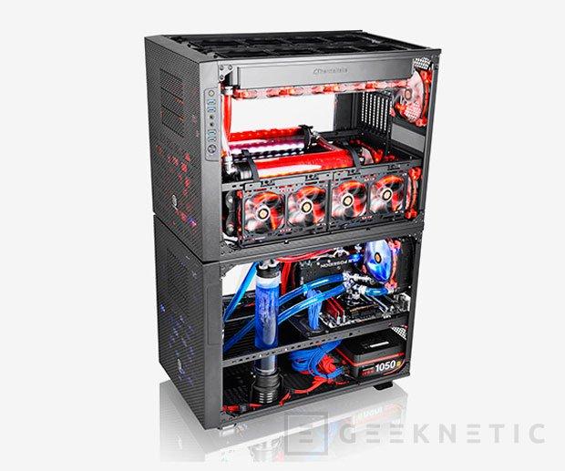 Thermaltake lanza la enorme torre Core X9 Snow Edition, Imagen 3