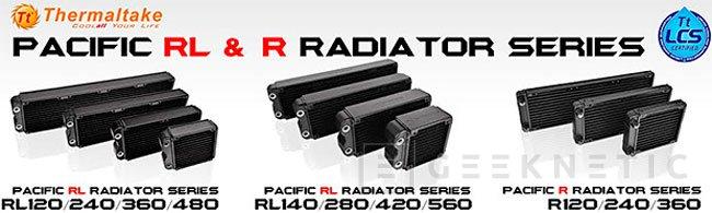 Thermaltake lanza 11 modelos de radiadores para refrigeración líquida, Imagen 1