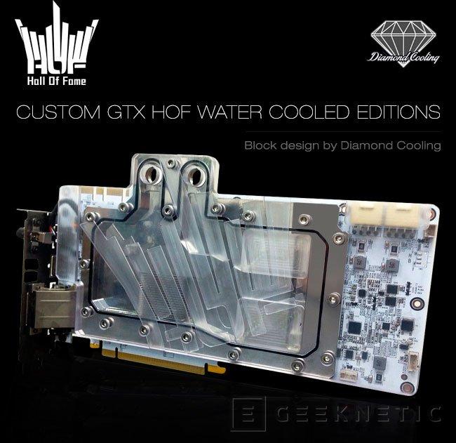GALAX añade refrigeración líquida a sus blancas GTX 970 y GTX 980 HOF, Imagen 1