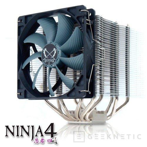 Scythe presenta la cuarta generación de su disipador Ninja, Imagen 1