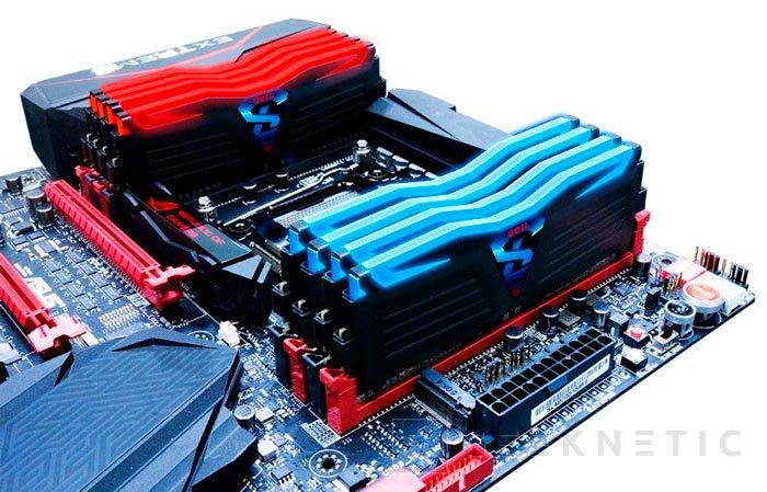 GeIL Super Luce, nuevas memorias DDR4 con iluminación y monitorización de temperaturas , Imagen 1