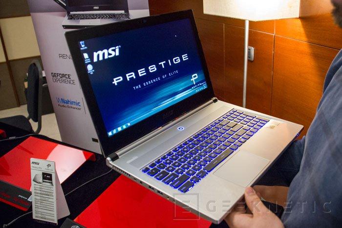 MSI lanza la gama de portátiles de alto rendimiento Prestige, Imagen 1