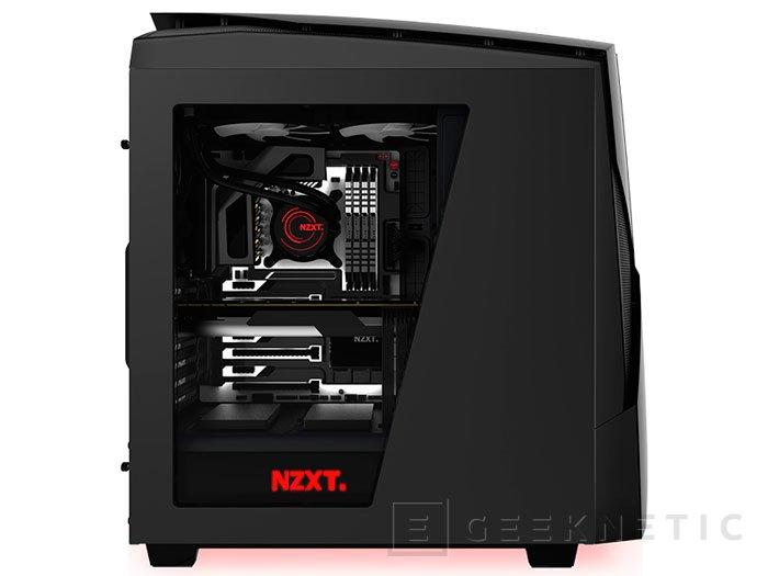 NZXT lanza la semi-torre Noctis 450 con un diseño inspirado en la Phantom, Imagen 1
