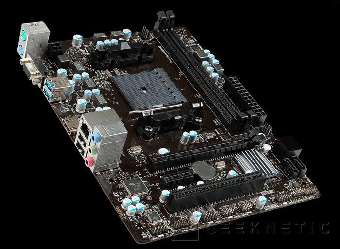 MSI se prepara para la llegada de las APU AMD Godavari con 8 nuevas placas base FM2+, Imagen 1