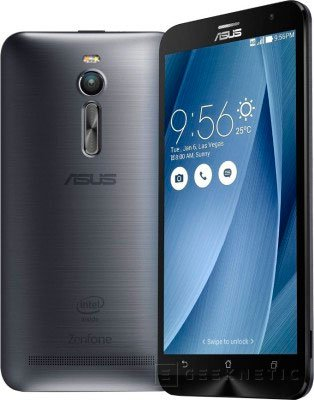 Aparece un ASUS ZenFone 2 con 128 GB de almacenamiento interno, Imagen 1