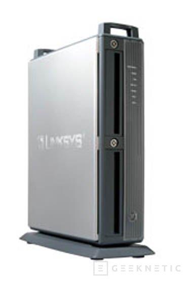 Nuevo dispositivo de almacenamiento en red de Linksys, Imagen 1