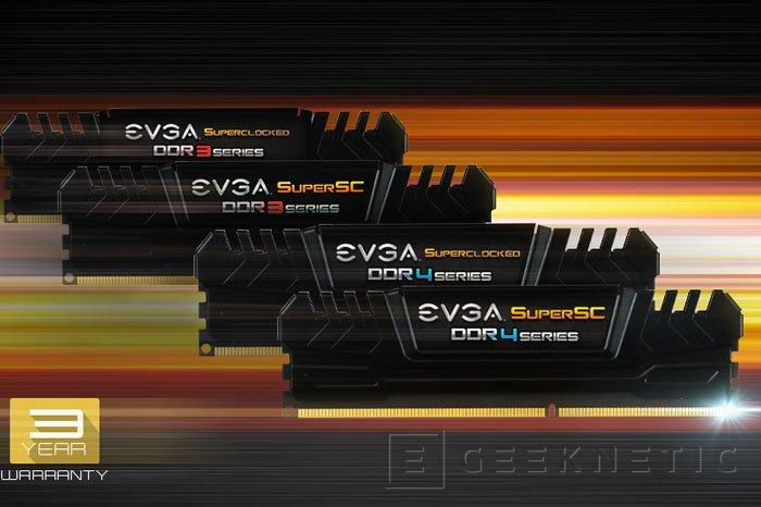 EVGA se pasa también al mercado de memorias RAM, Imagen 1