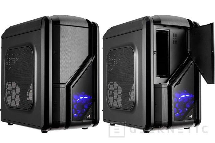 AeroCool lanza su nueva torre ATX cúbica GT-RS, Imagen 1