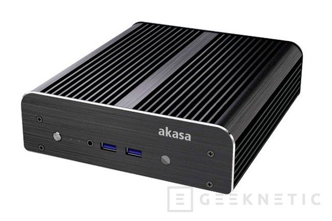 Akasa Newton S, nueva torre pasiva para mini PCs Intel NUC, Imagen 1