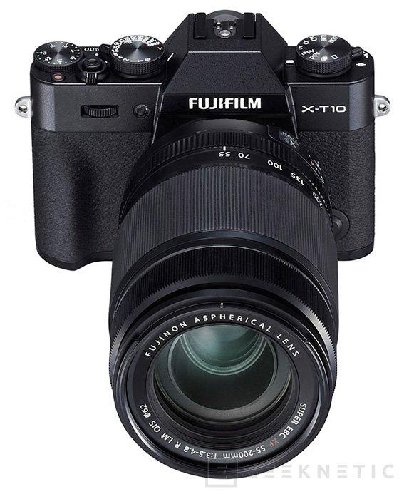 Fujifilm anuncia su cámara compacta X-T10 con sensor APS-C de 16 megapíxeles, Imagen 2