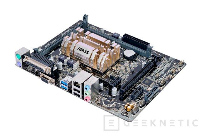 ASUS lanza dos placas base con SoC Braswell integrado y refrigeración pasiva, Imagen 1