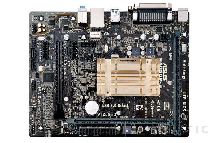 ASUS lanza dos placas base con SoC Braswell integrado y refrigeración pasiva, Imagen 2