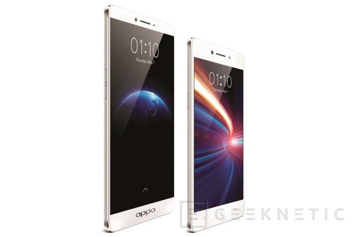 Oppo lanzará en Europa sus nuevos smartphones R7 y R7 plus, Imagen 1