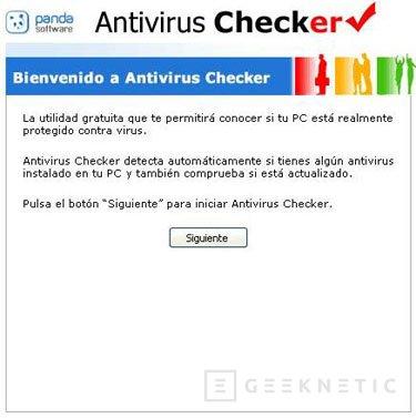 Panda lanza una herramienta para comprobar el estado de los programas antivirus, Imagen 1