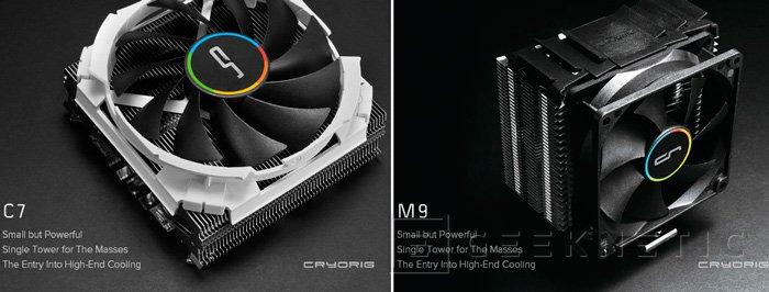 Cryorig prepara 3 nuevos disipadores para el Computex, Imagen 2