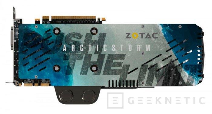 ZOTAC muestra una GTX TITAN X con refrigeración líquida y tres ventiladores, Imagen 3