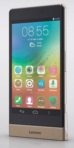 Lenovo Smart Cast, un smartphone con proyector integrado, Imagen 1