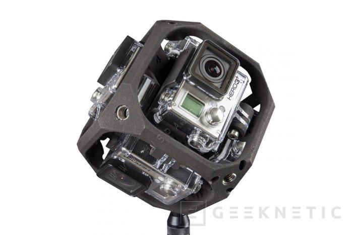 GoPro apuesta por la realidad virtual con un módulo de 6 cámaras que graba en 360º, Imagen 1