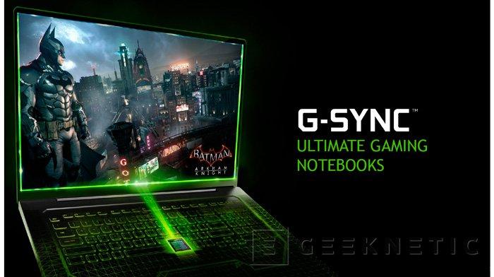NVIDIA G-SYNC llega a los portátiles, Imagen 1