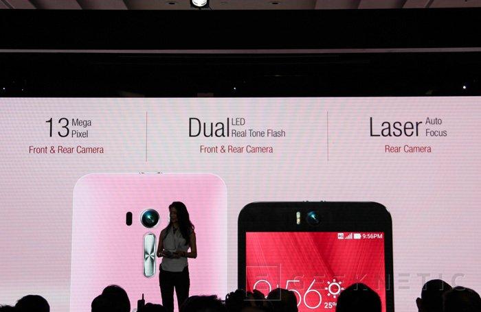 ASUS anuncia el Zenfone Selfie cámara frontal de 13 megapíxeles y doble flash, Imagen 2