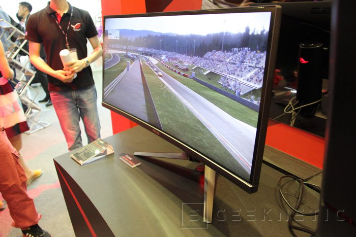 ASUS presenta un monitor de 34 pulgadas curvado con G-SYNC, Imagen 2