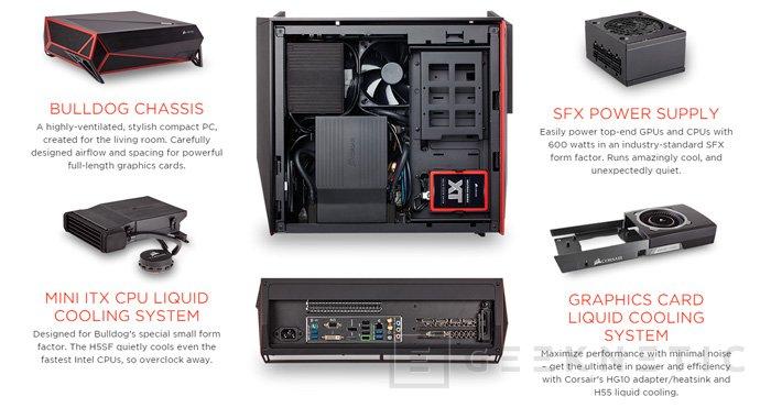 Corsair Bulldog, un kit para montar un PC de alto rendimiento, Imagen 2