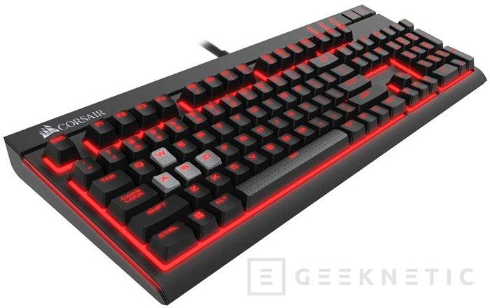 Corsair STRAFE, un teclado mecánico con efectos de iluminación, Imagen 2