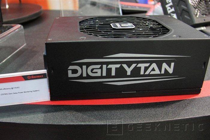 Enermax DIGITYTAN, 1250W de potencia 80 PLUS TITANIUM, Imagen 1