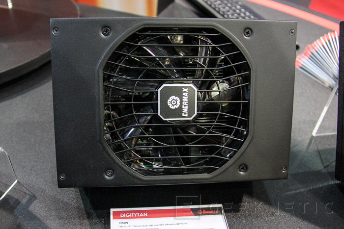 Enermax DIGITYTAN, 1250W de potencia 80 PLUS TITANIUM, Imagen 2