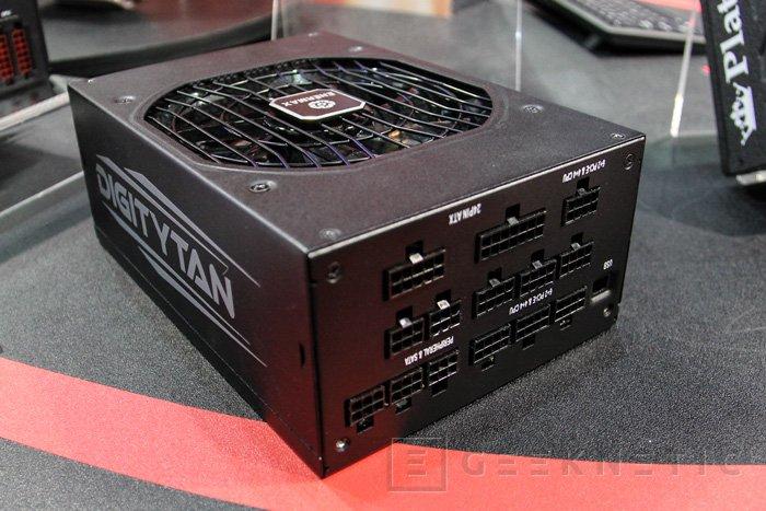 Enermax DIGITYTAN, 1250W de potencia 80 PLUS TITANIUM, Imagen 3