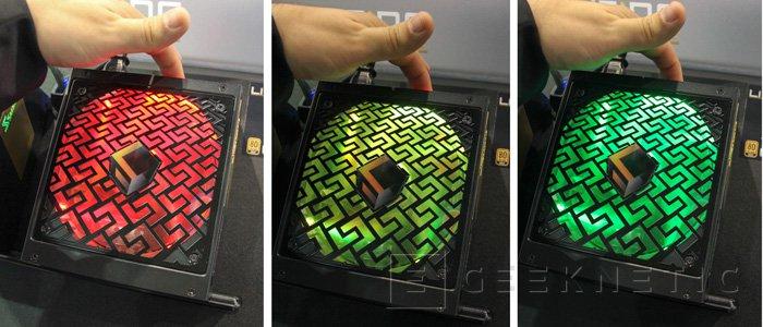 Seasonic también se une a la moda de los LED RGB en sus fuentes Lighting Cube, Imagen 1