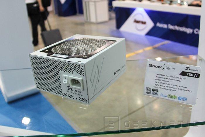 SeaSonic amplía la familia de fuentes SnowSilent con un modelo de 750W, Imagen 1