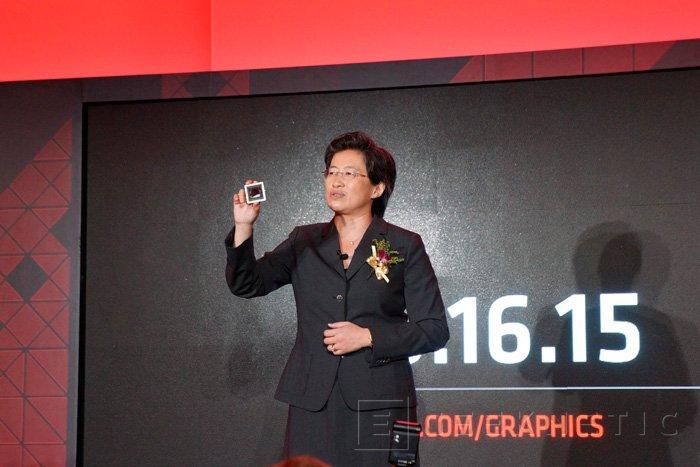 AMD muestra el chip de las nuevas GPU Fiji, llegarán el 16 de junio, Imagen 1