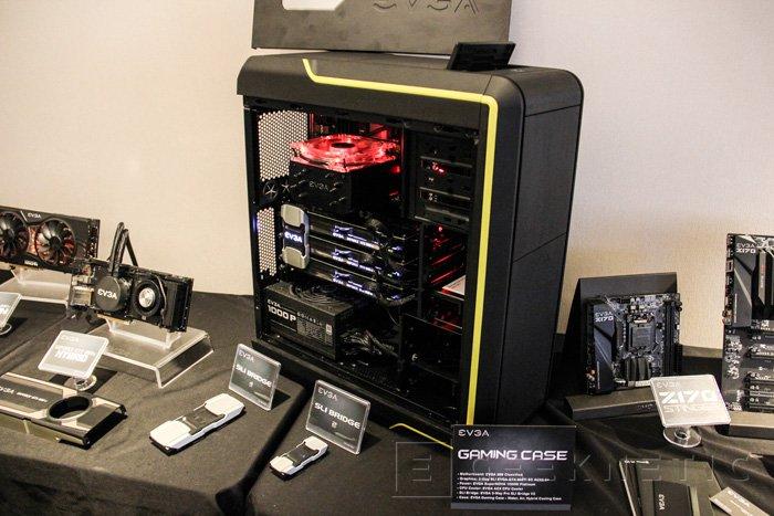 EVGA desvela el diseño preliminar de su Gaming Case, Imagen 1